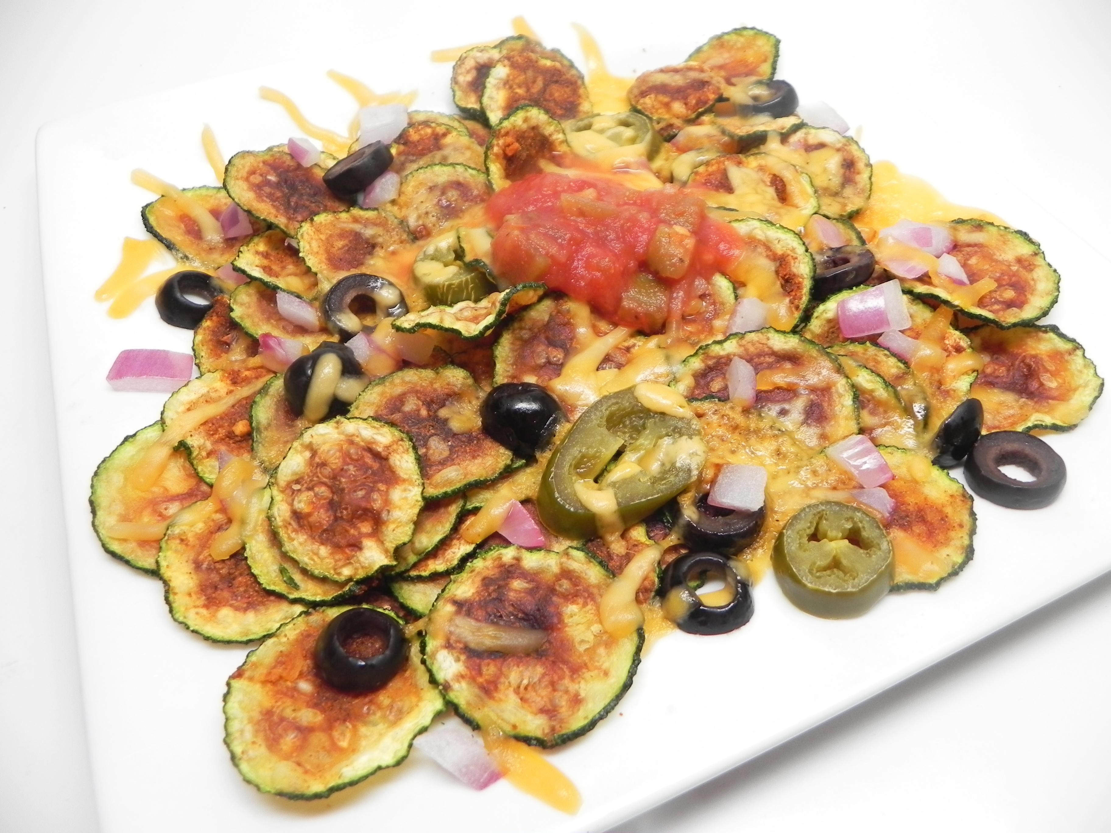 Zucchini Chip Nachos