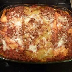 Linda's Lasagna lekkerlekker