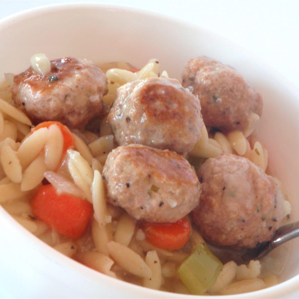 Chicken Meatball Soup CC<3's2bake