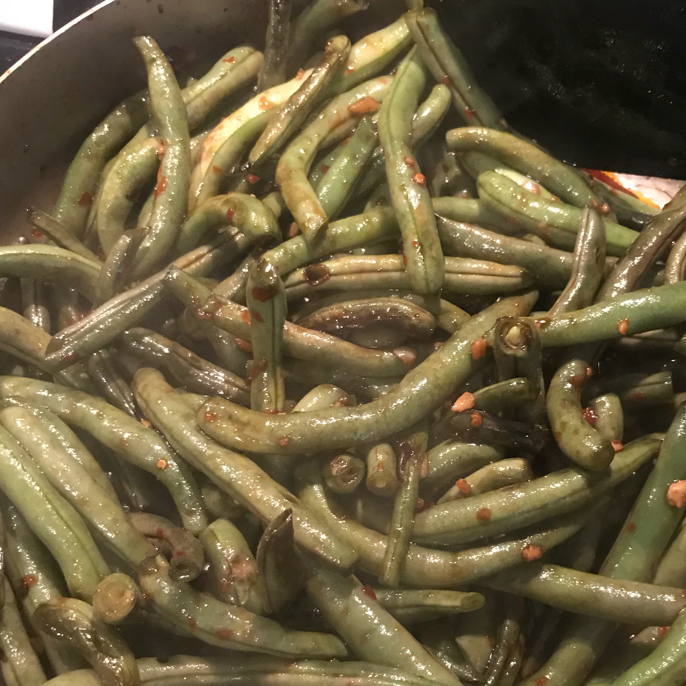 Sweet and Spicy Green Beans kat