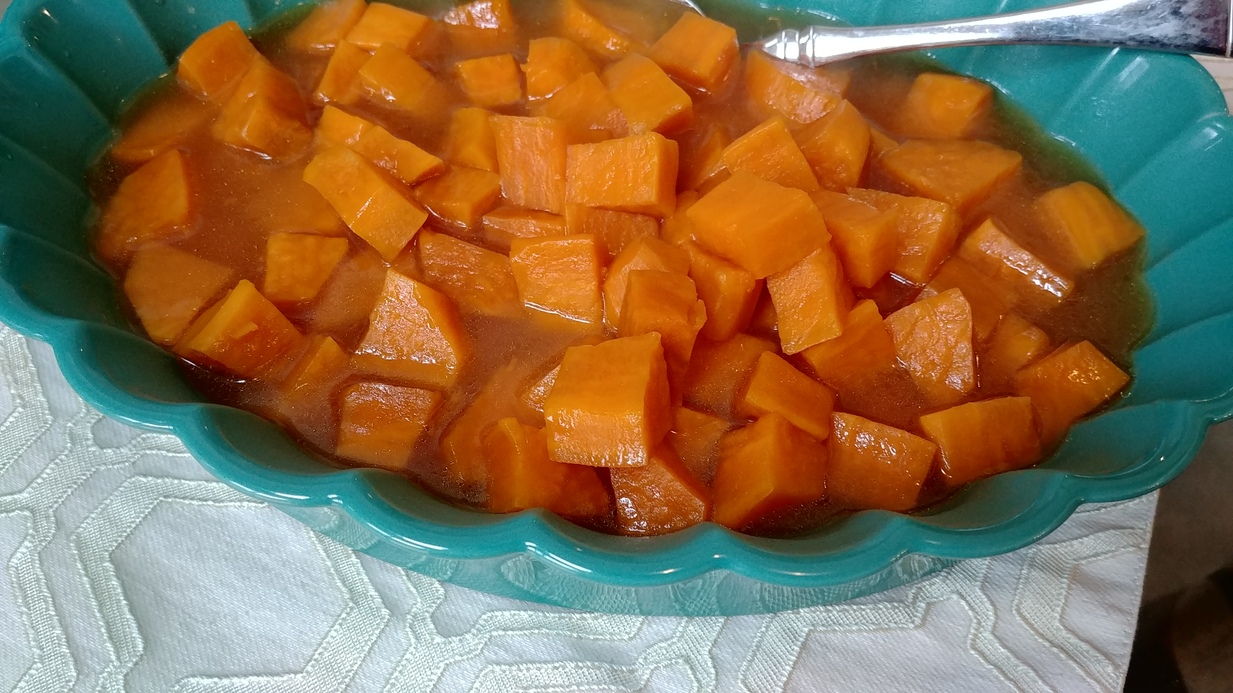 Instant Pot® Candied Sweet Potatoes Chef Mo