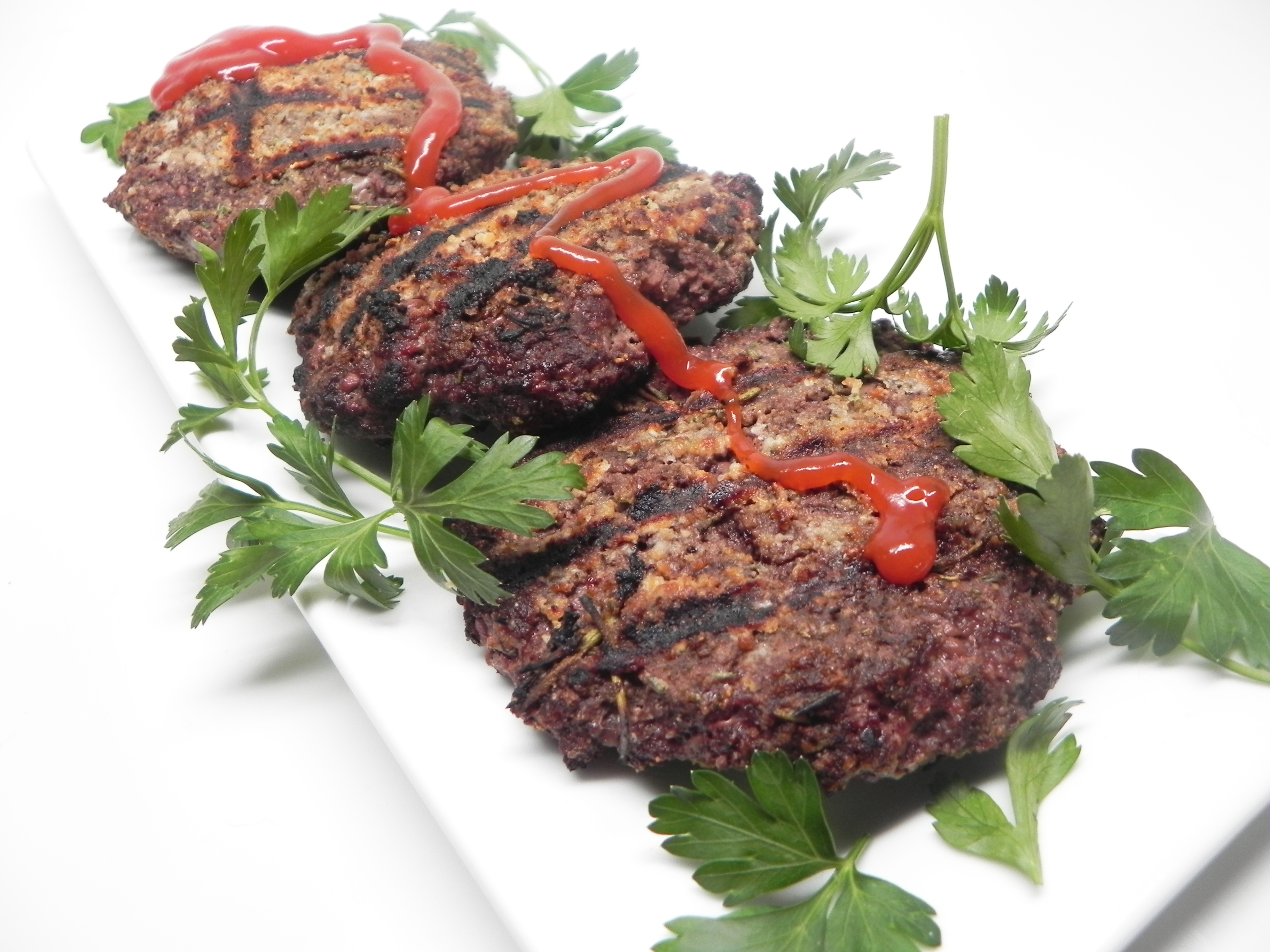 Rosemary-Crusted Oxtail Burger