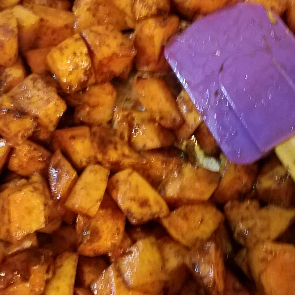 Honey Roasted Sweet Potatoes Chanice Jones