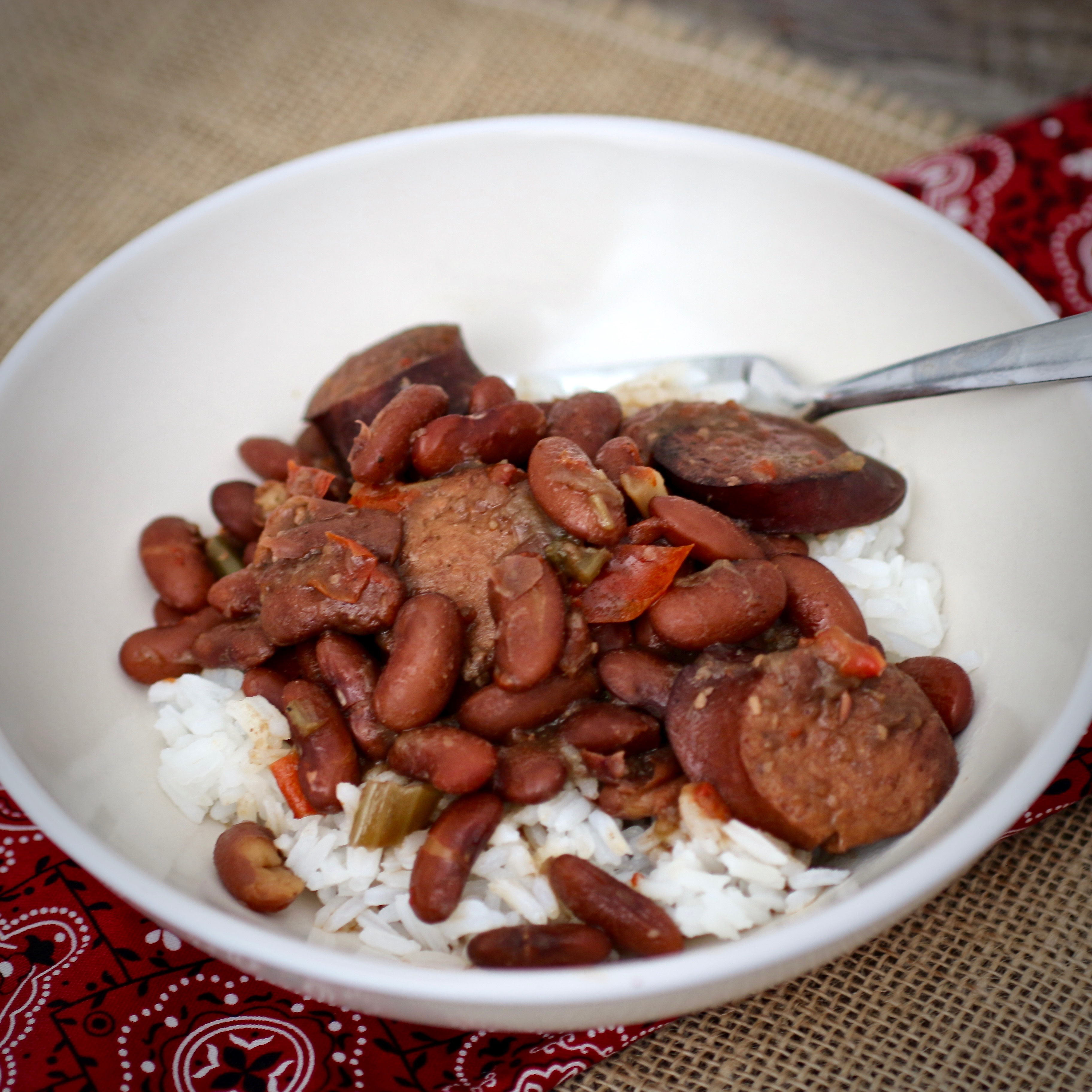 """The recipe calls for soaking dried red beans for 2 hours before cooking them in the Instant Pot, but several reviewers opted not to, and still loved the results. """"I was thrilled it was so simple and delicious!"""" raves Mimi's Kitchen. """"I'm new to the instant pot and it gave me a whole new confidence. Yay!"""""""