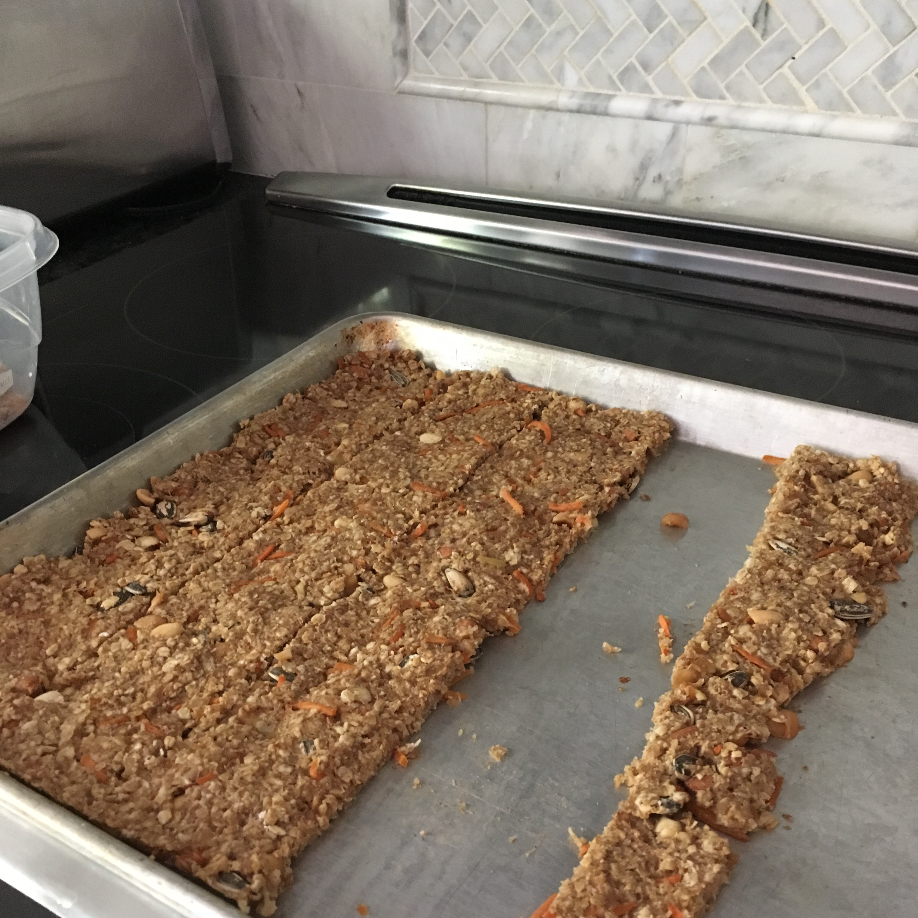 Banana Oat Energy Bars ~pastamachine~