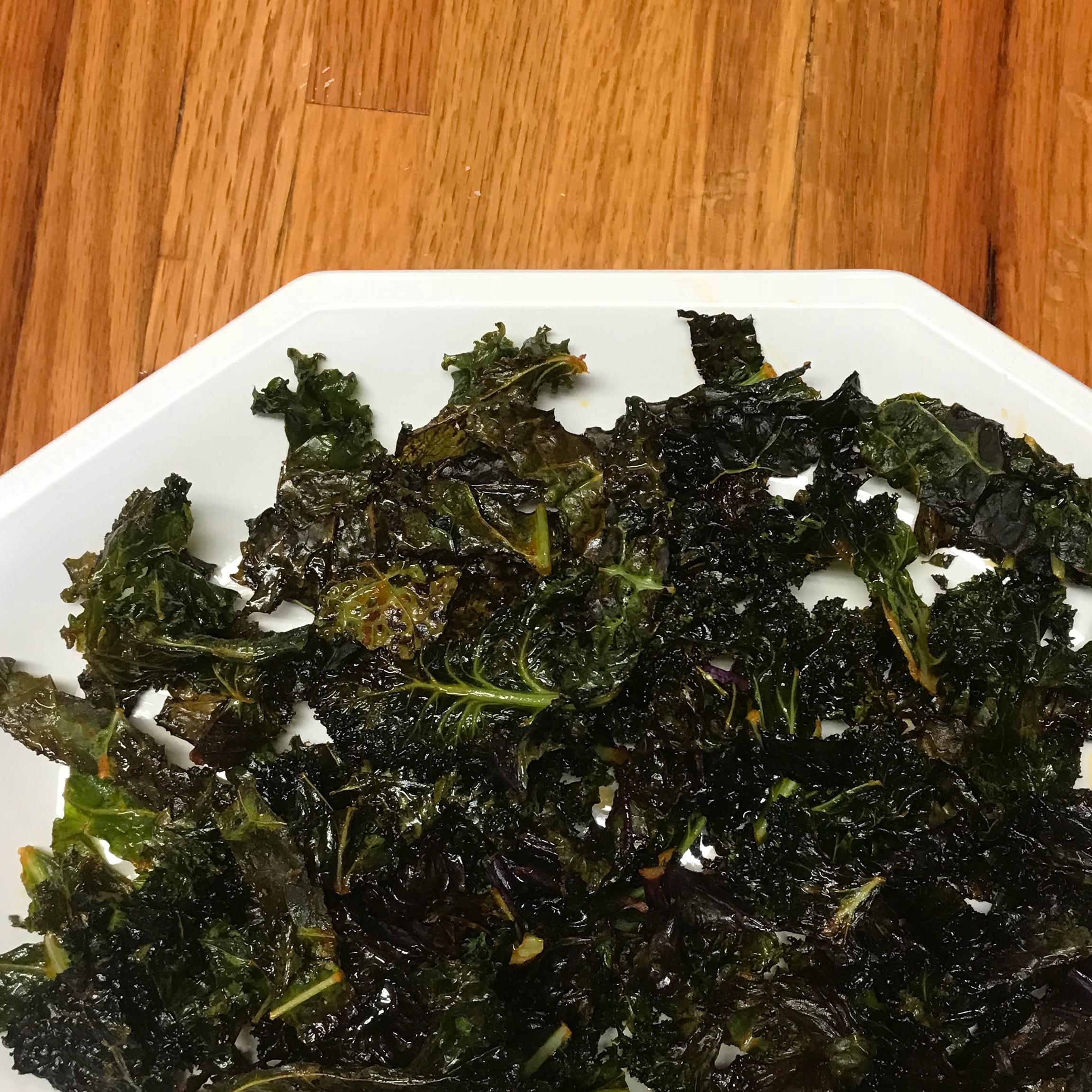 Sriracha-Lime Kale Chips BRJRCO
