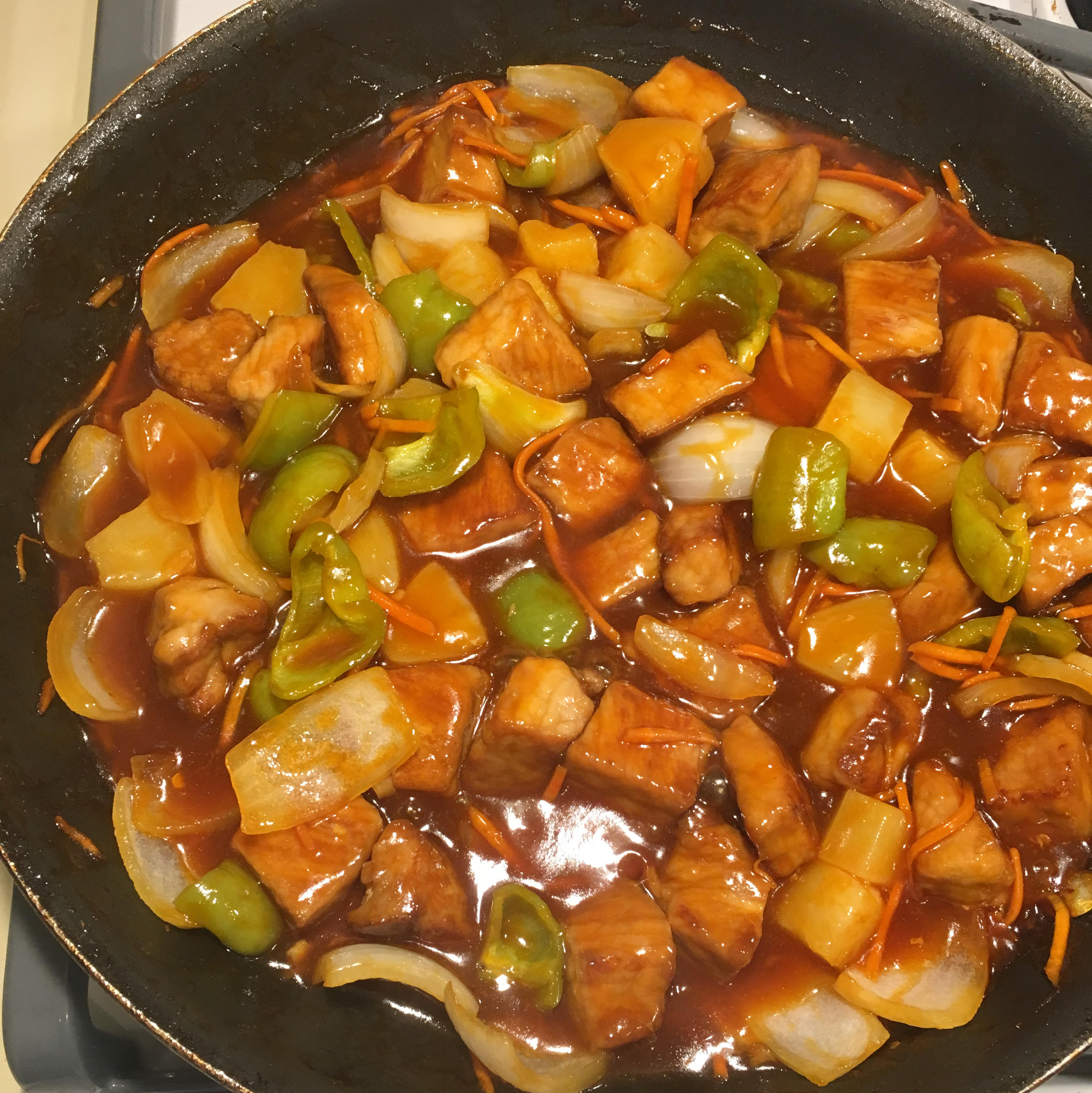 Sweet and Sour Pork Grace Risch Perry