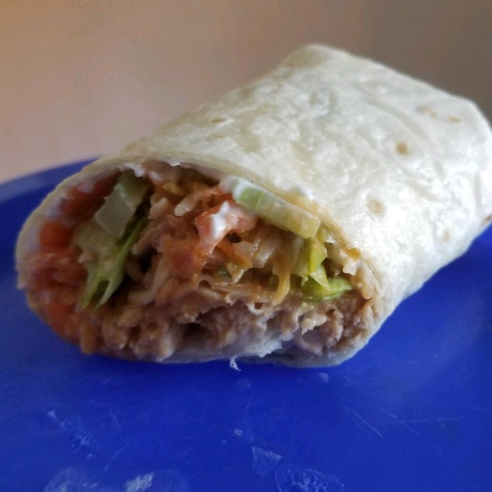 Slow Cooker Buffalo Chicken Wraps Ninedislaanh247