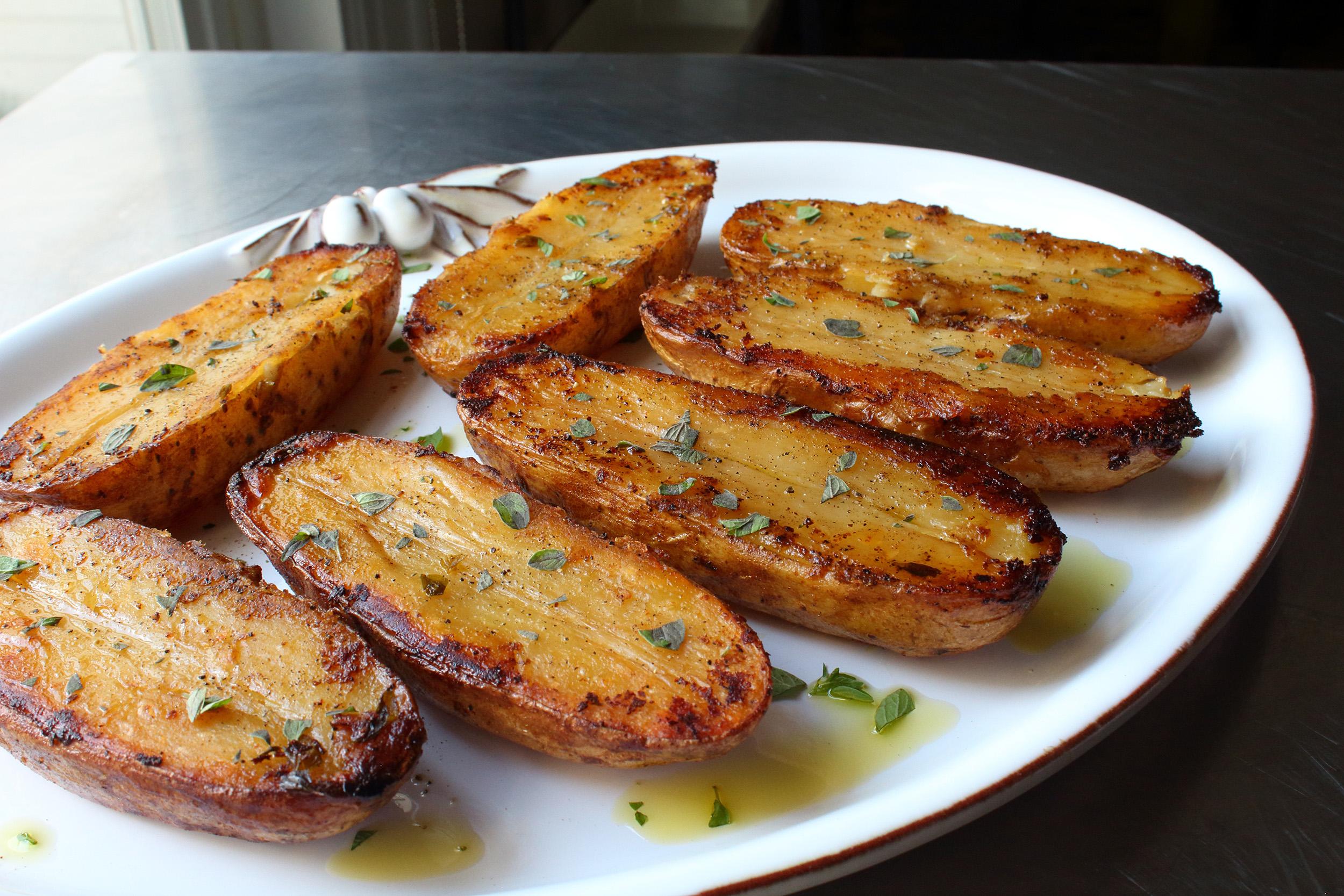 Roasted Lemon Pepper Potatoes
