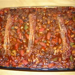 Venison and Barbequed Bean Bake suzy