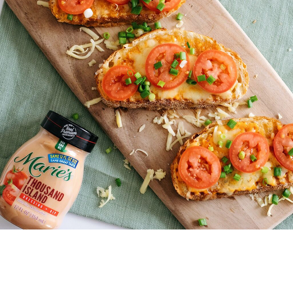 Melty Cheese and Tomato Sandwiches