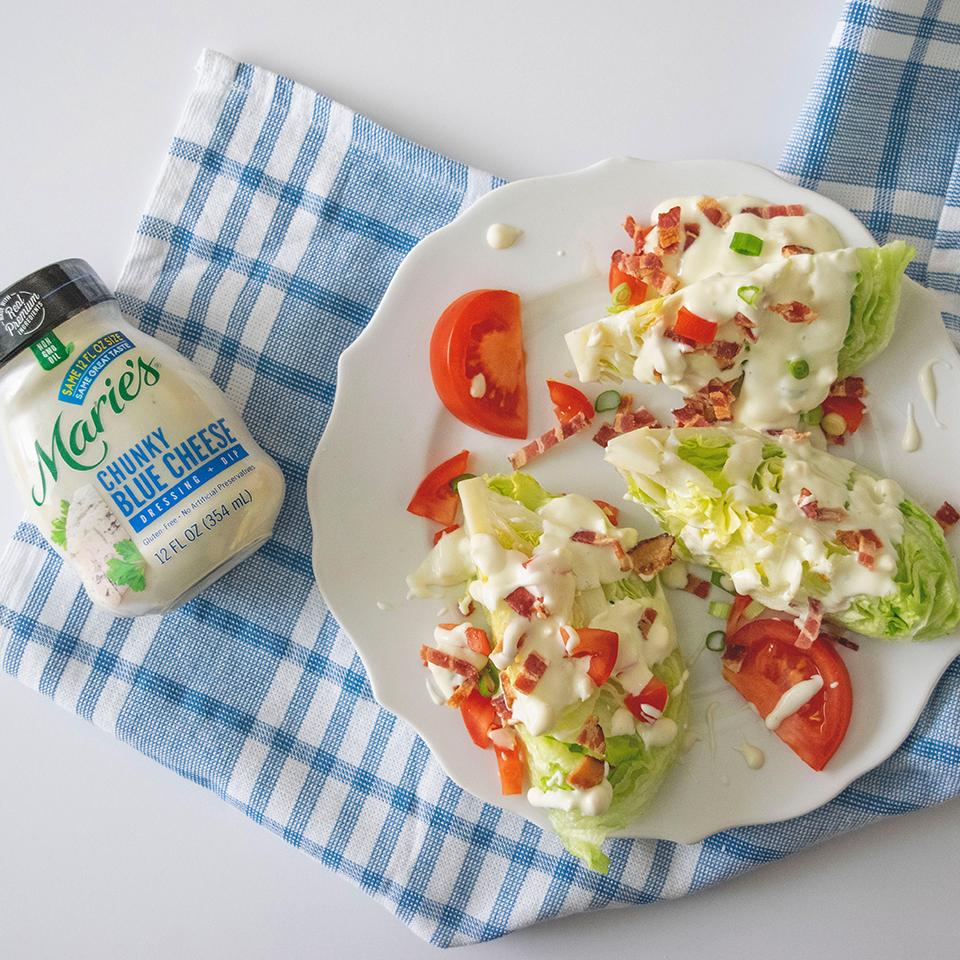 Marie's Iceberg Wedge Salad