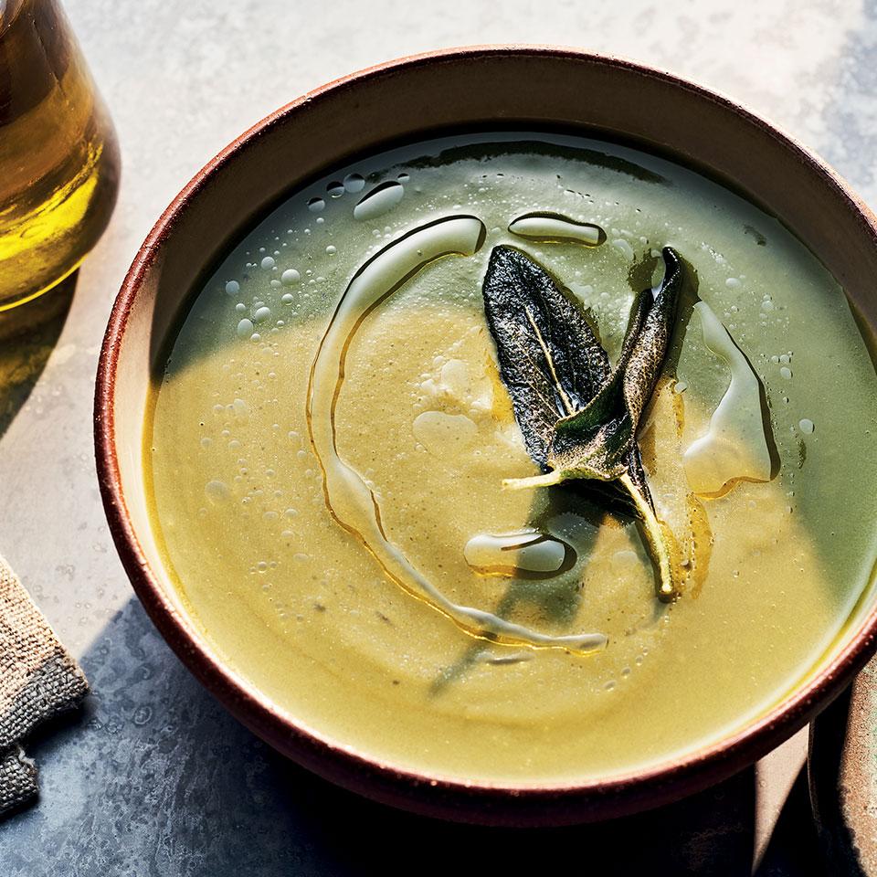 Green Soup with Yams & Sage Anna Thomas