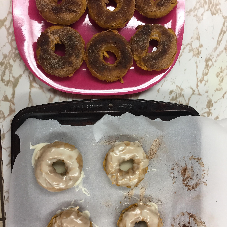 Glazed Pumpkin Donuts jaxs14