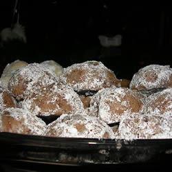 Chocolate Mexican Wedding Cookies Teresa Wilson