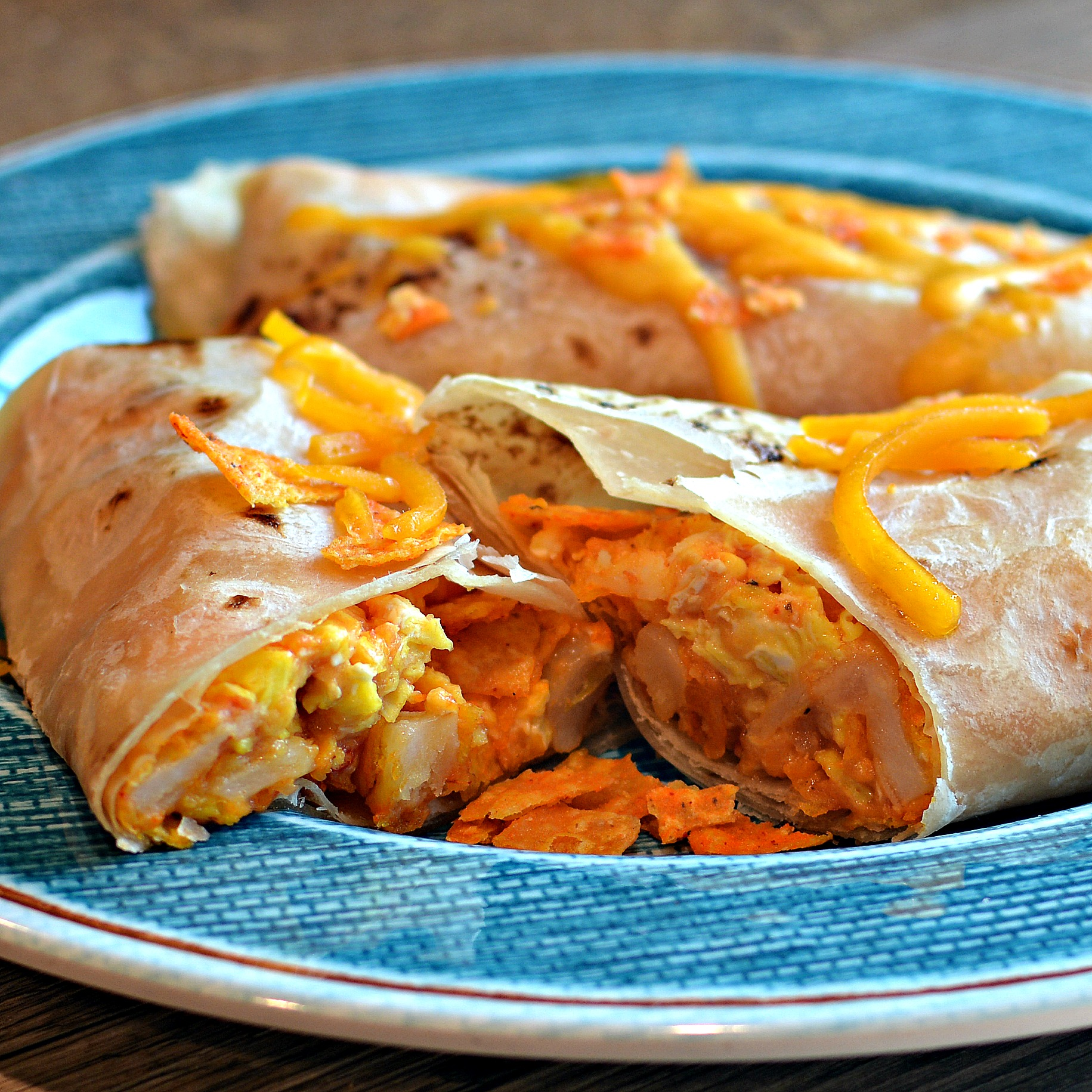 Nacho Daughter-In-Law's Cheesy Breakfast Burrito