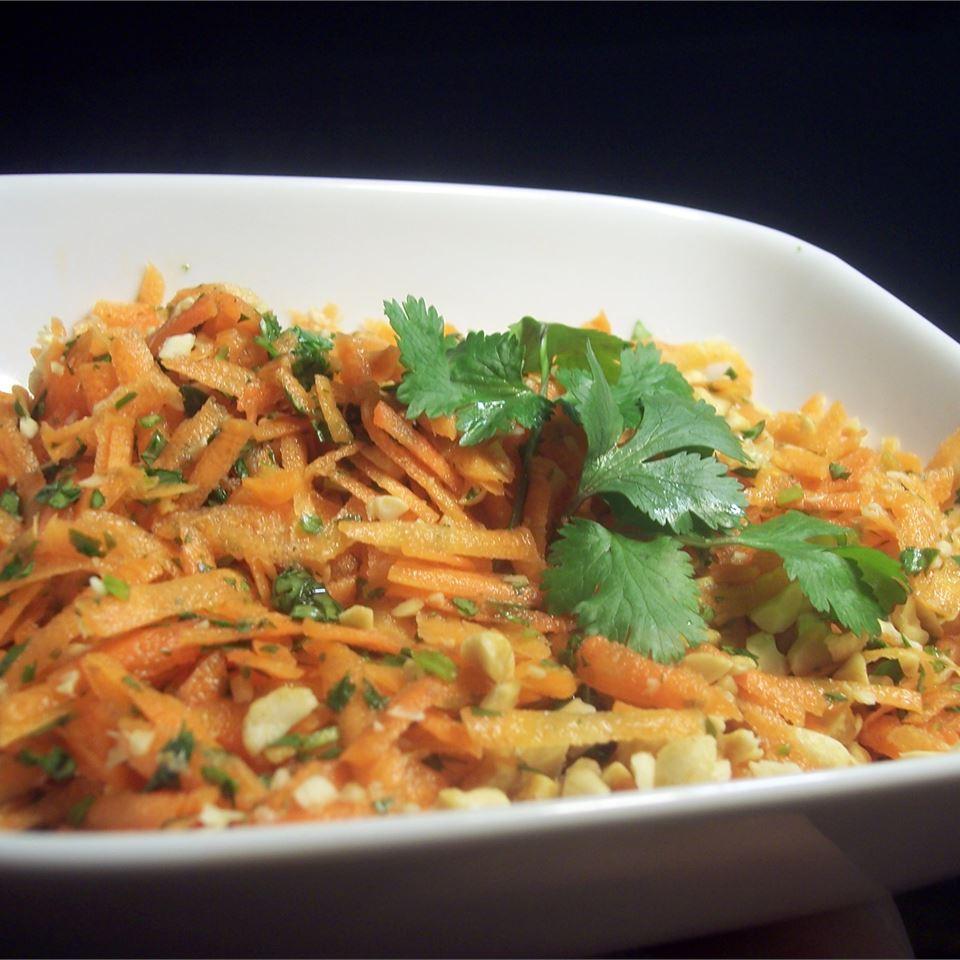 Gujarati Carrot and Peanut Salad Sarah-May