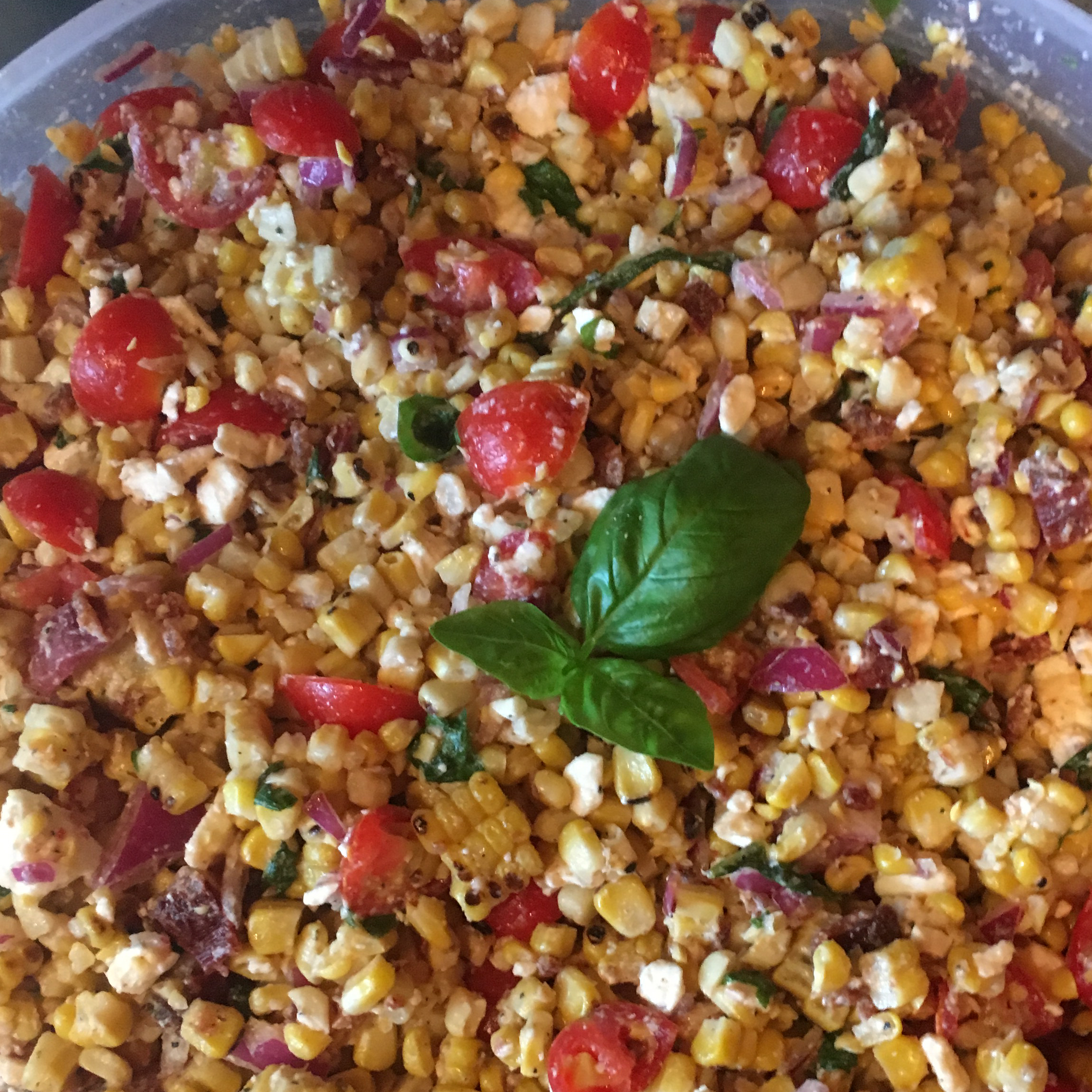 Grilled Corn Salad Casey Myer