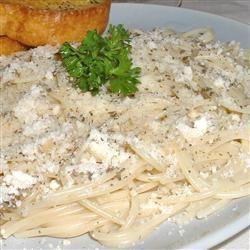 Spaghetti with Garlic and Basil Erimess