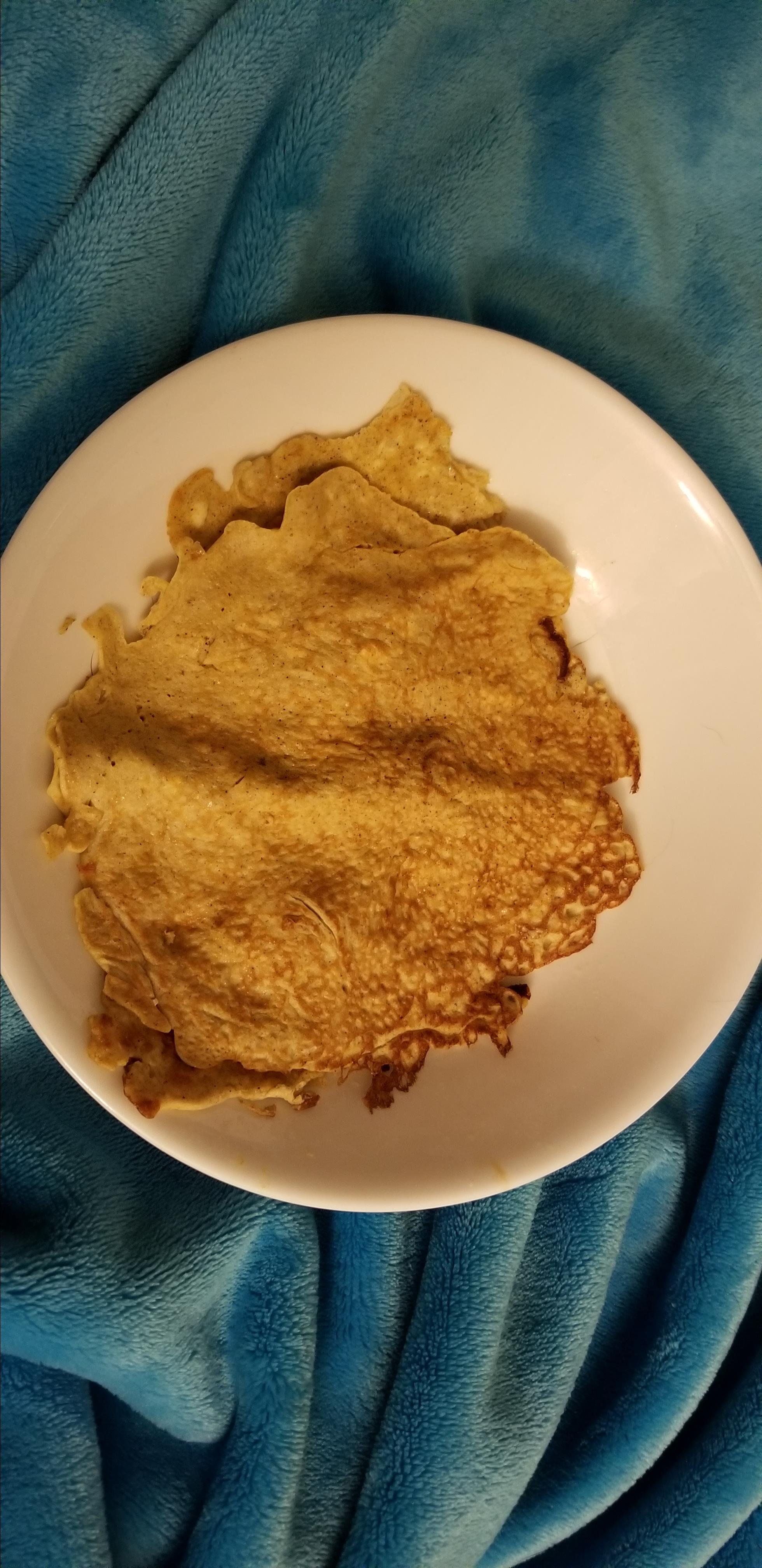 Low-Carb Cream Cheese Pancakes Kokoro No Shinigami