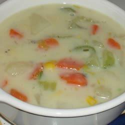 Creamy Vegetable Chowder Chef Helen