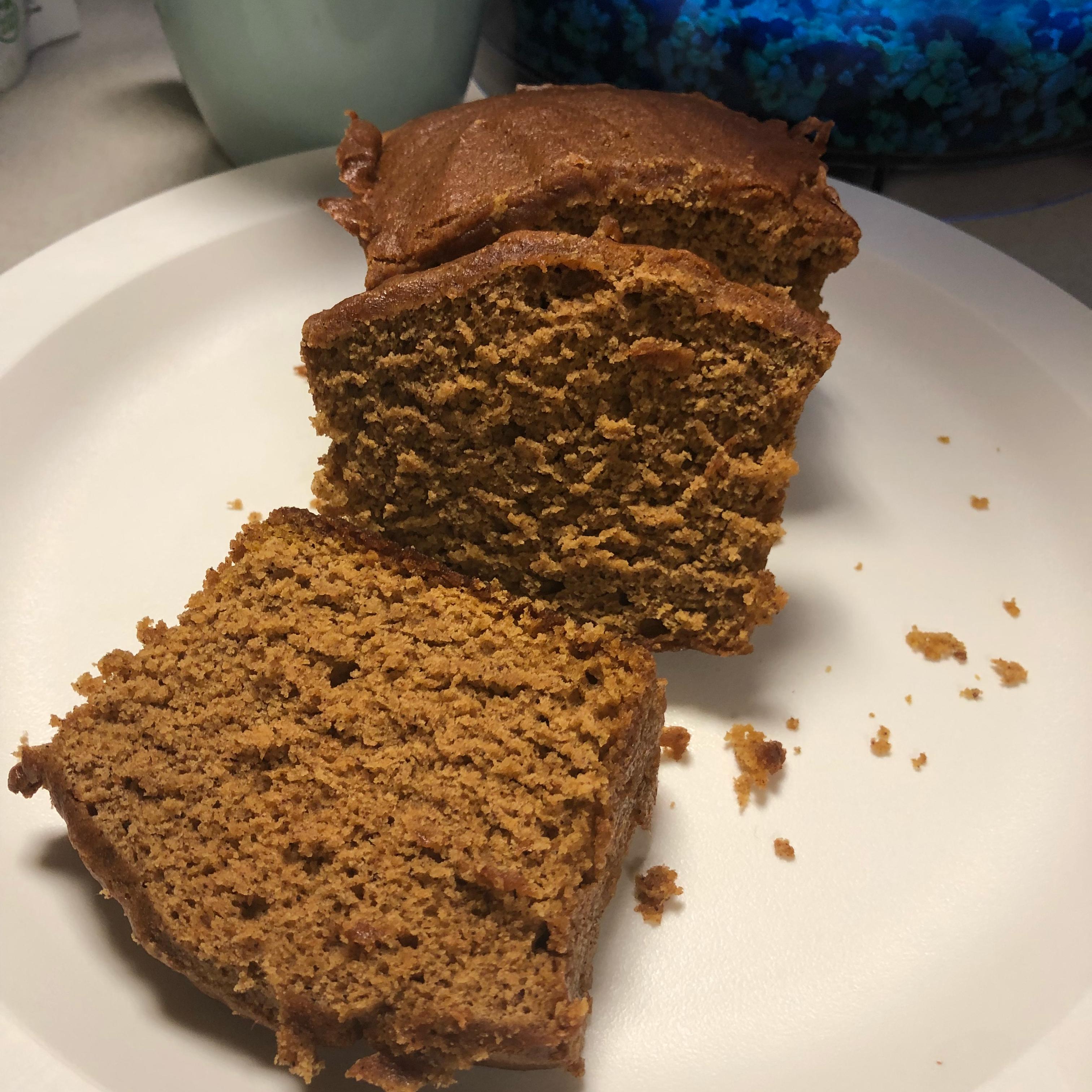 Pumpkin Spice Bread Meredith Maresh