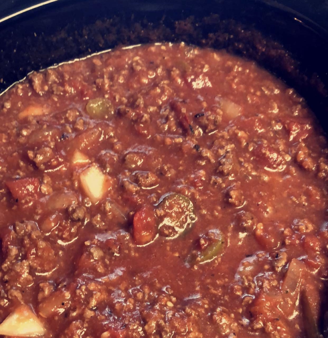 No-Bean Low-Carb Chili