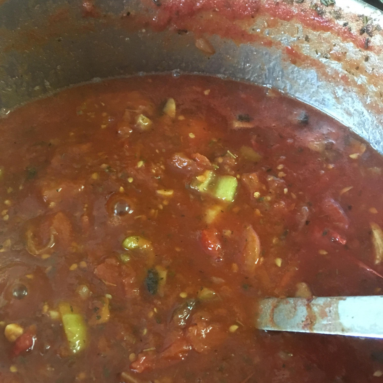 Homemade Spaghetti Sauce Kelly Reynolds