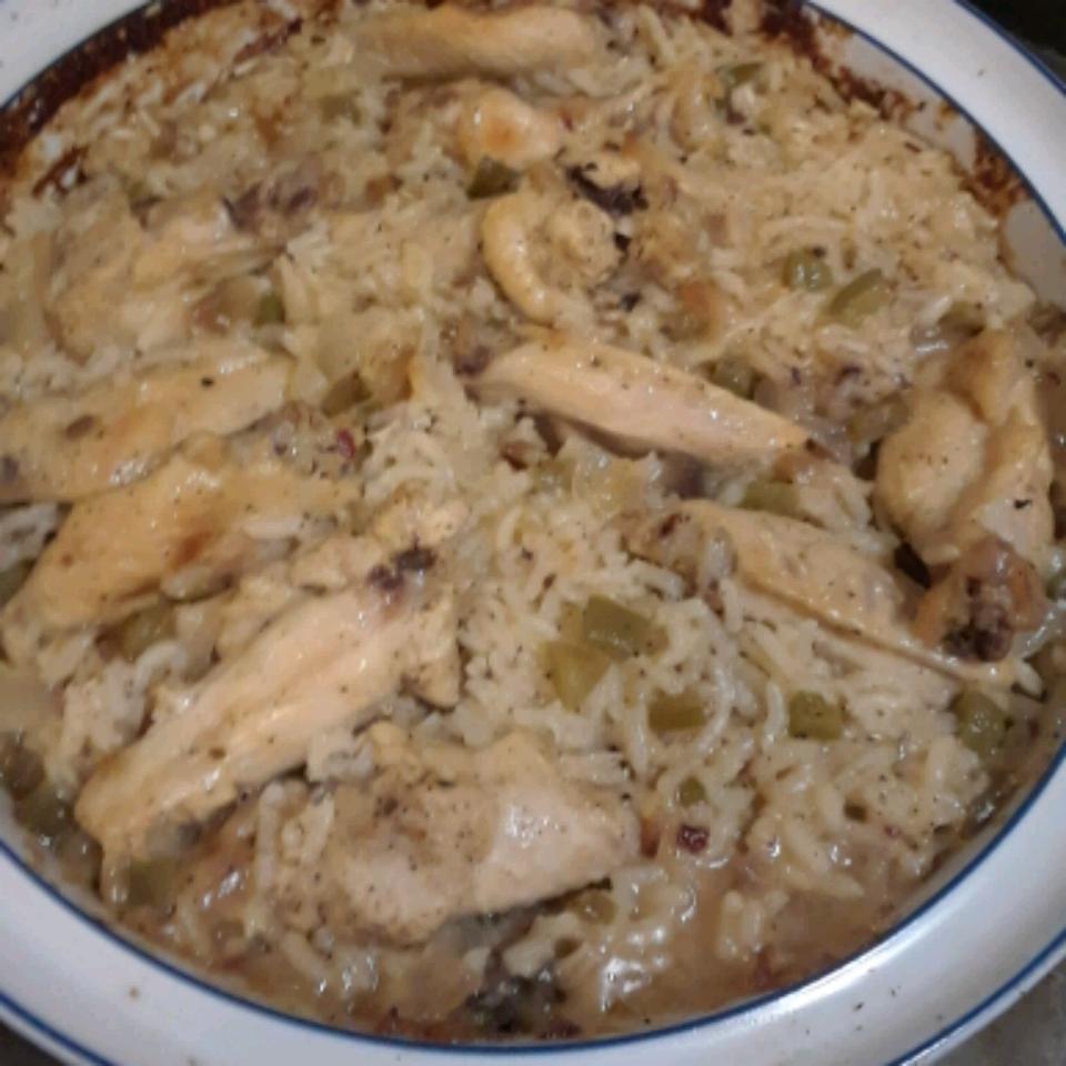 Chicken Bake and Rice Jantutt