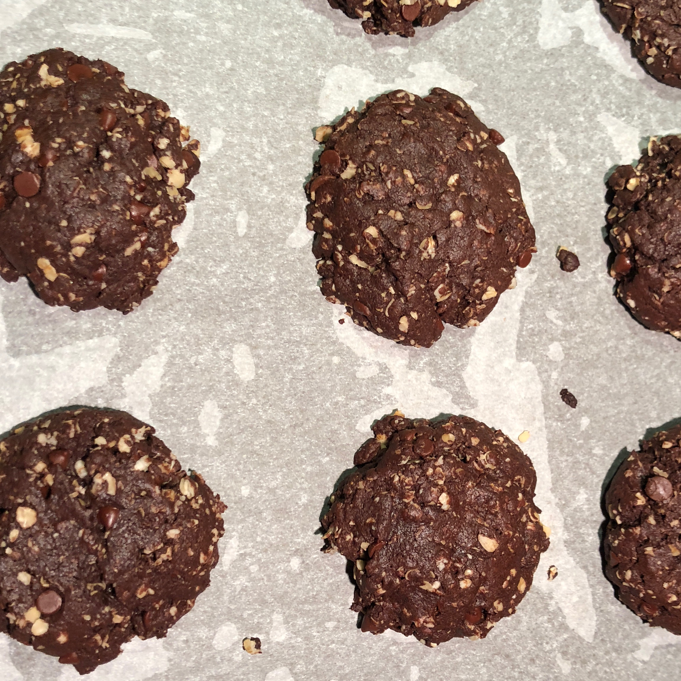 Chocolate Oatmeal Chip Cookies Aquita