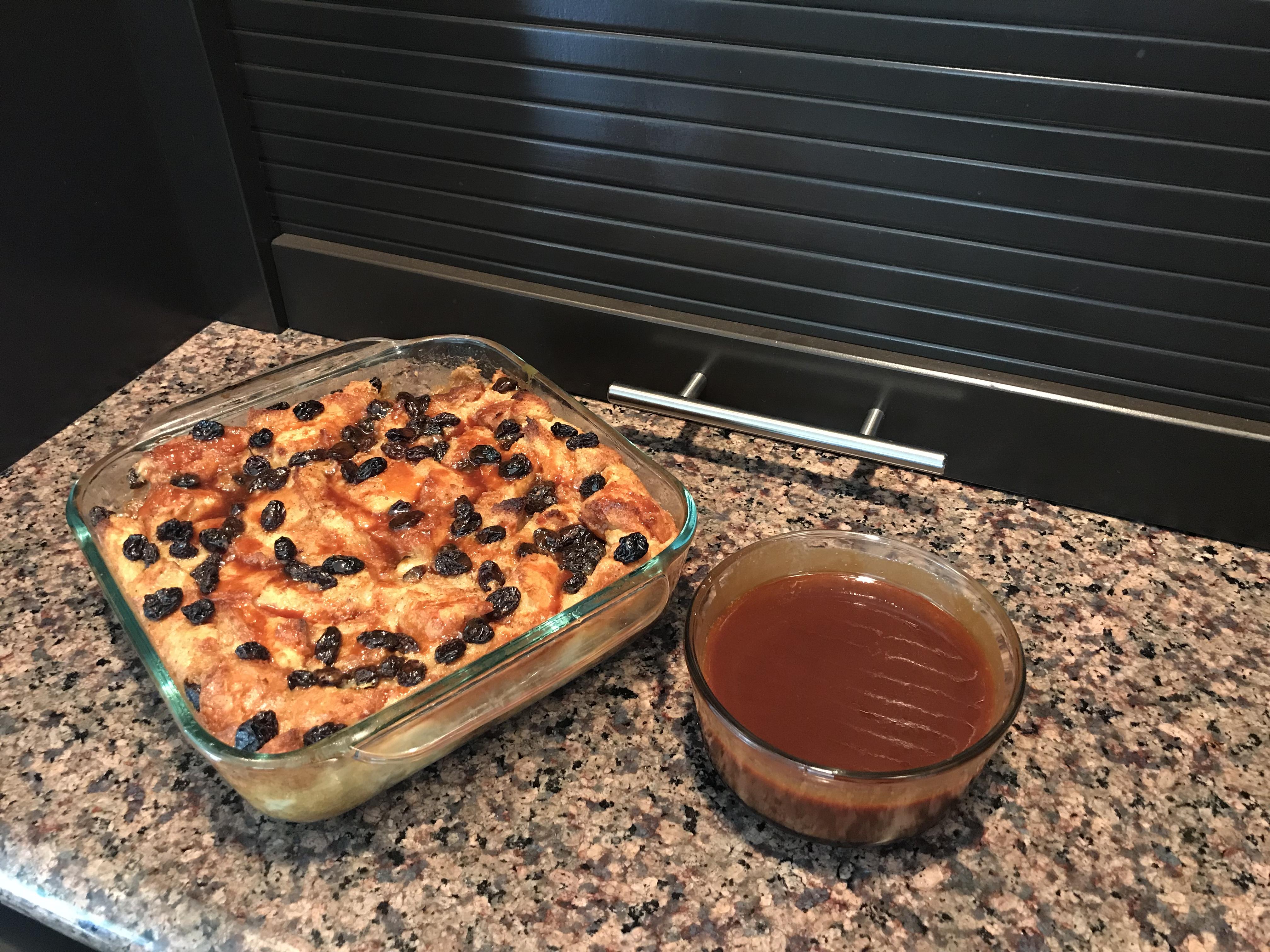 Bread Pudding with Lemon Sauce I kimmy