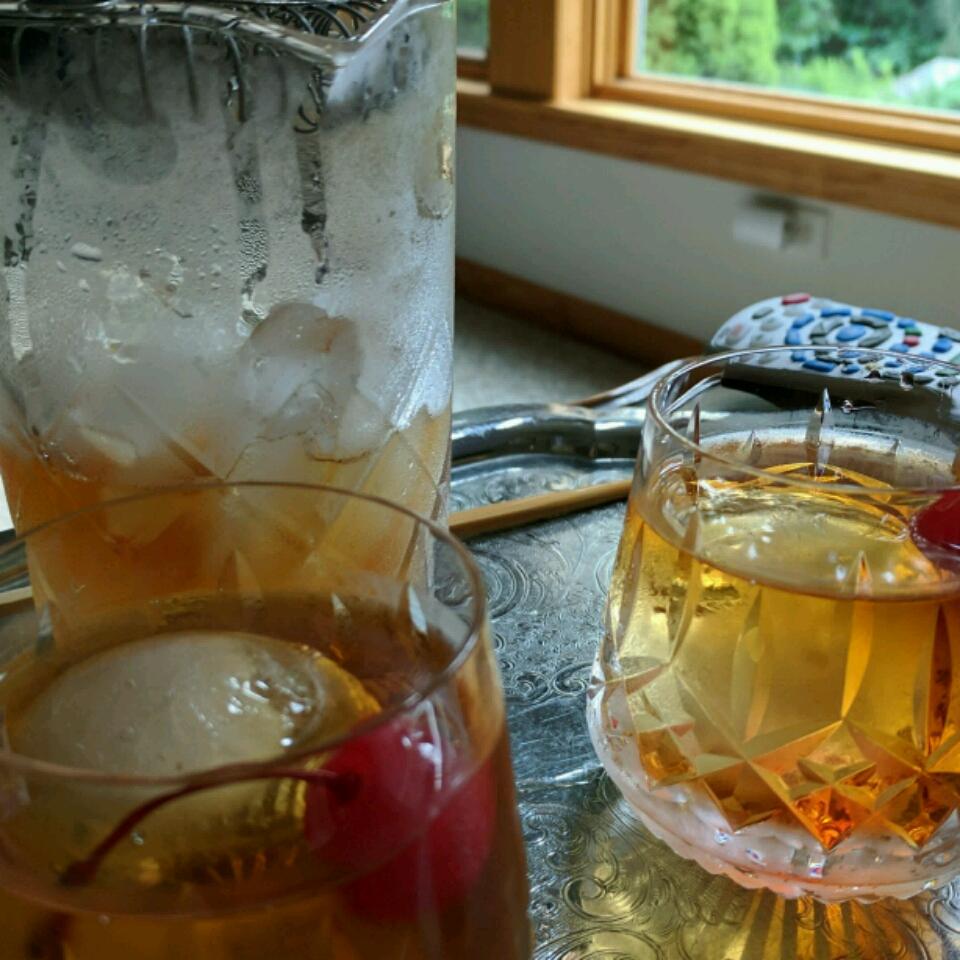 Manhattan Cocktail Rene Lafayette