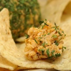 Tailgating Spicy Taco Cheese Ball Melissa Goff