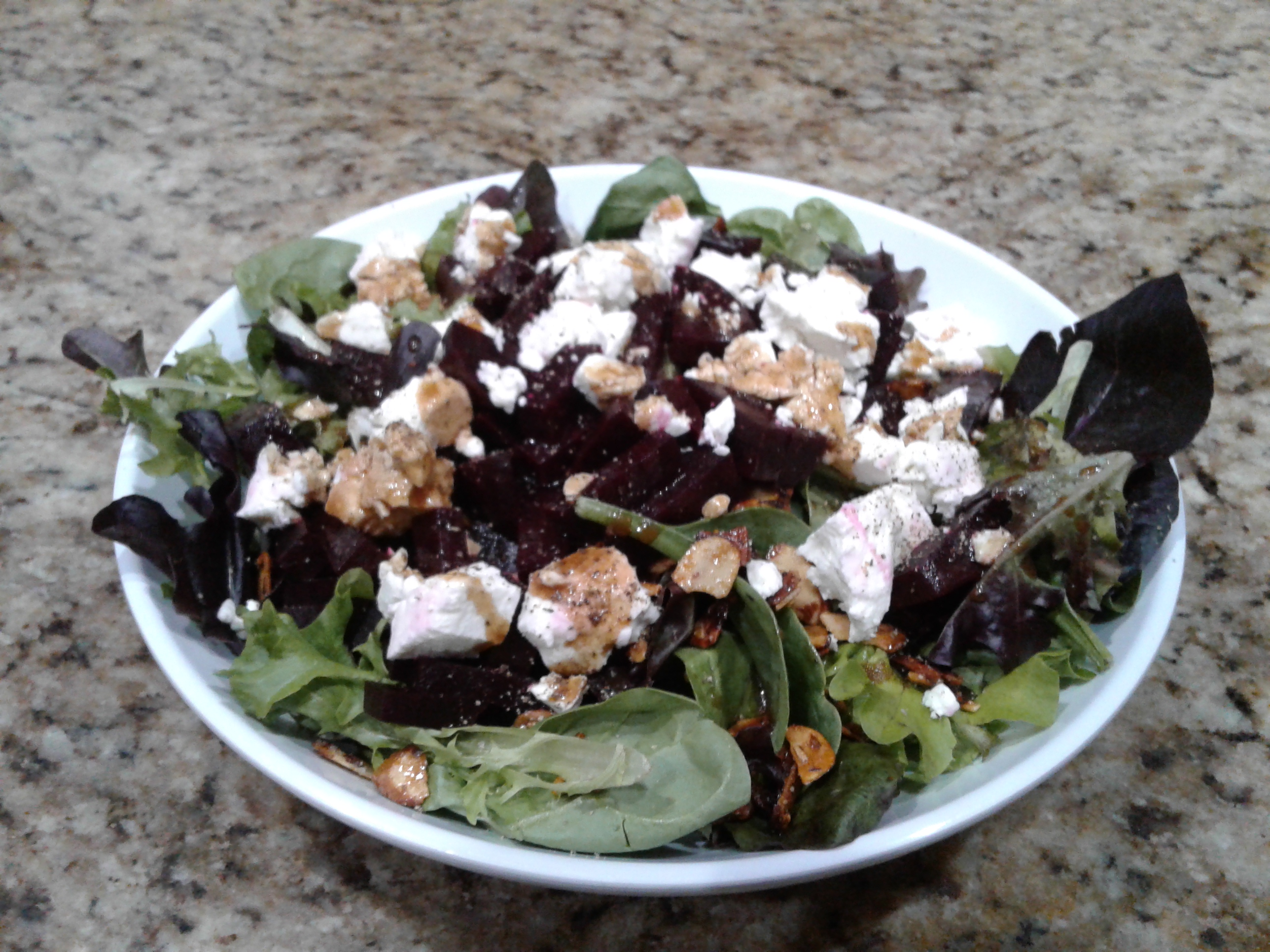 Roasted Beets with Goat Cheese and Walnuts Tracey Ferrari Posner