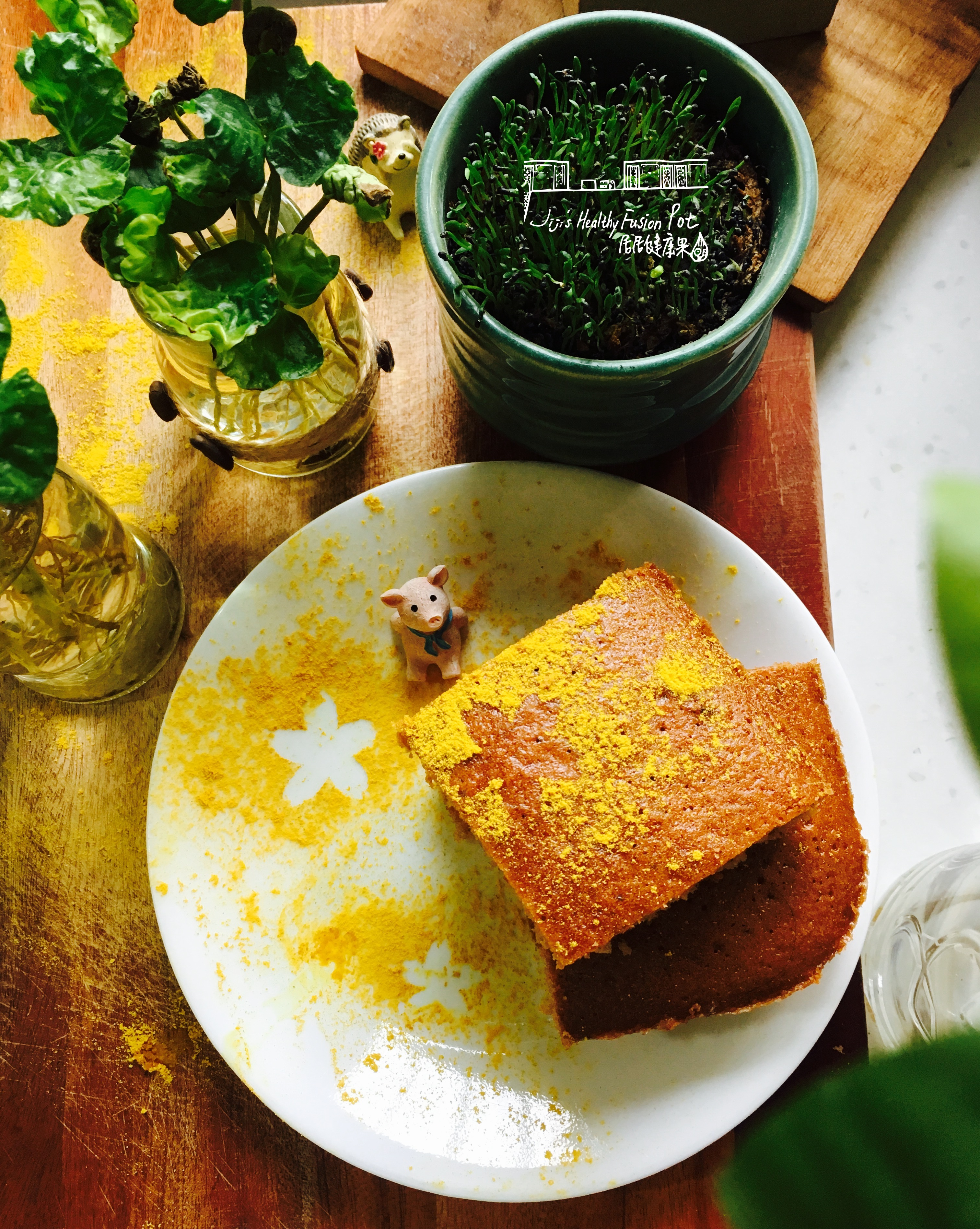 Chinese Five-Spice Ginger Cake
