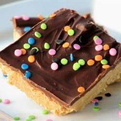 No Bake Peanut Butter Bars mominml