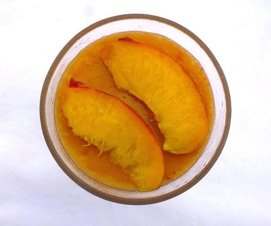 Peach-Ginger Slushie