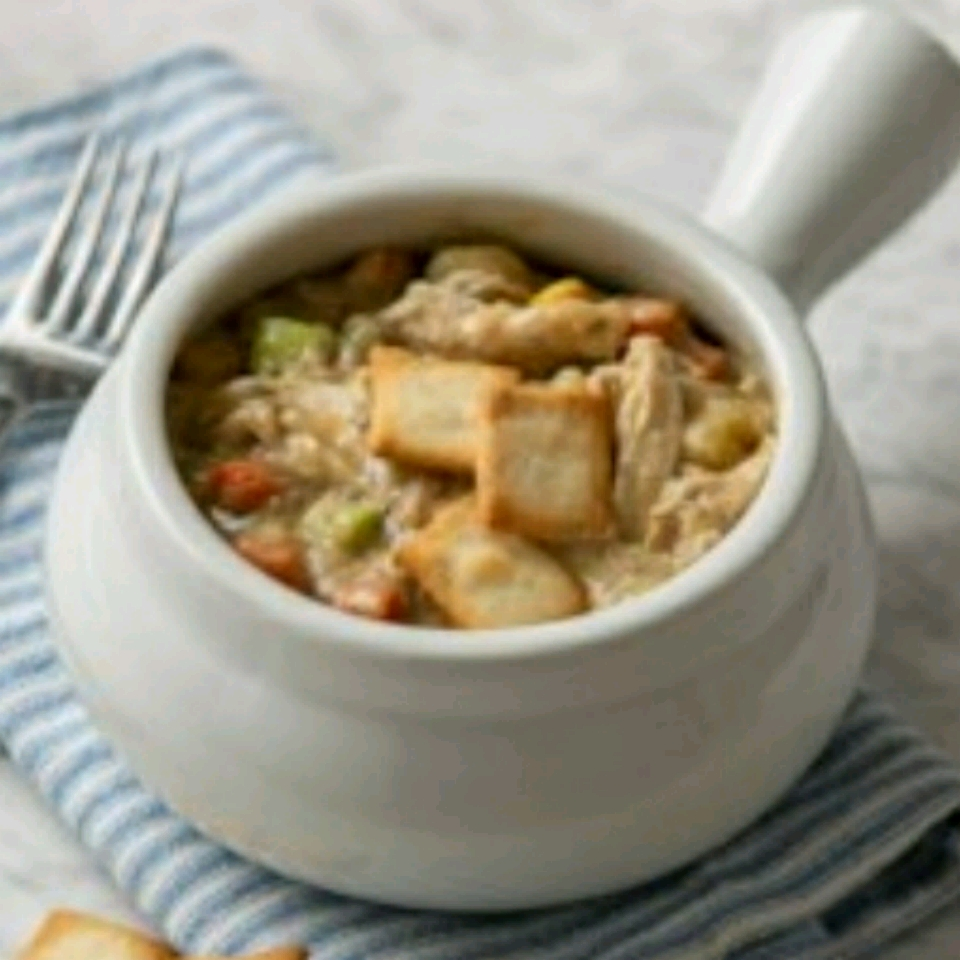 Easy Chicken and Vegetable Pot Pie