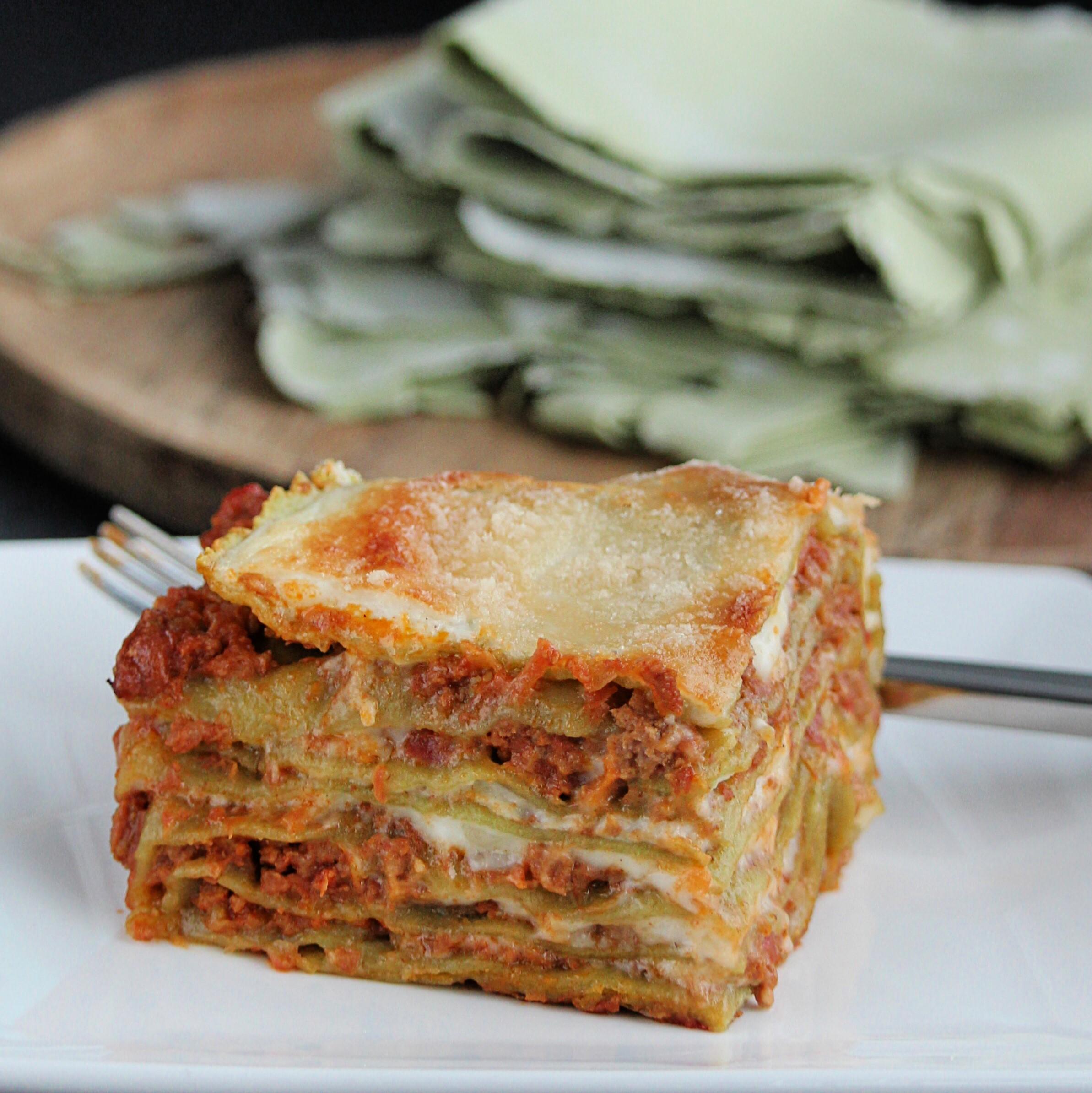Lasagne Verdi alla Bolognese Buckwheat Queen
