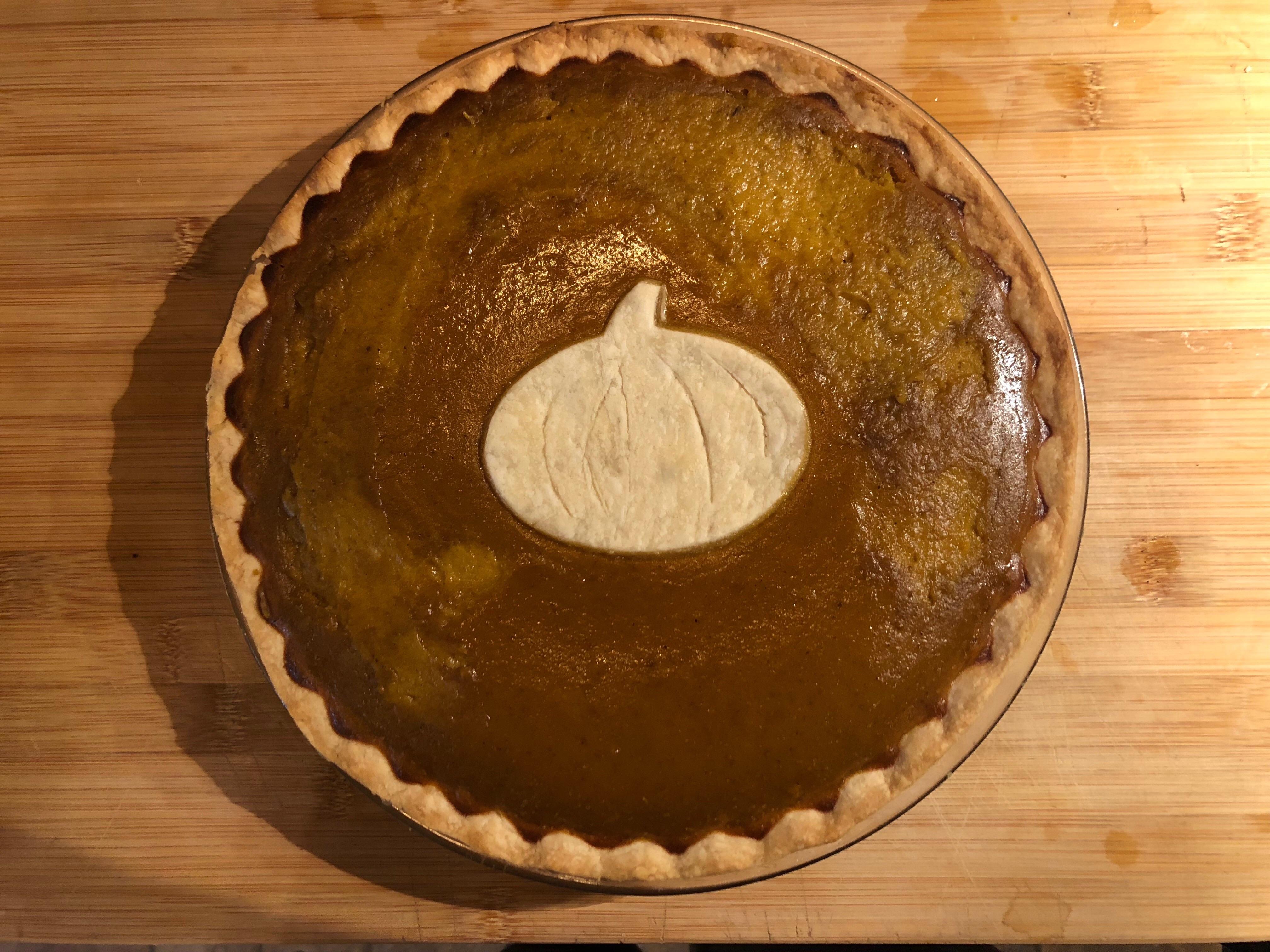Fresh Sugar Pumpkin Pie nlw90