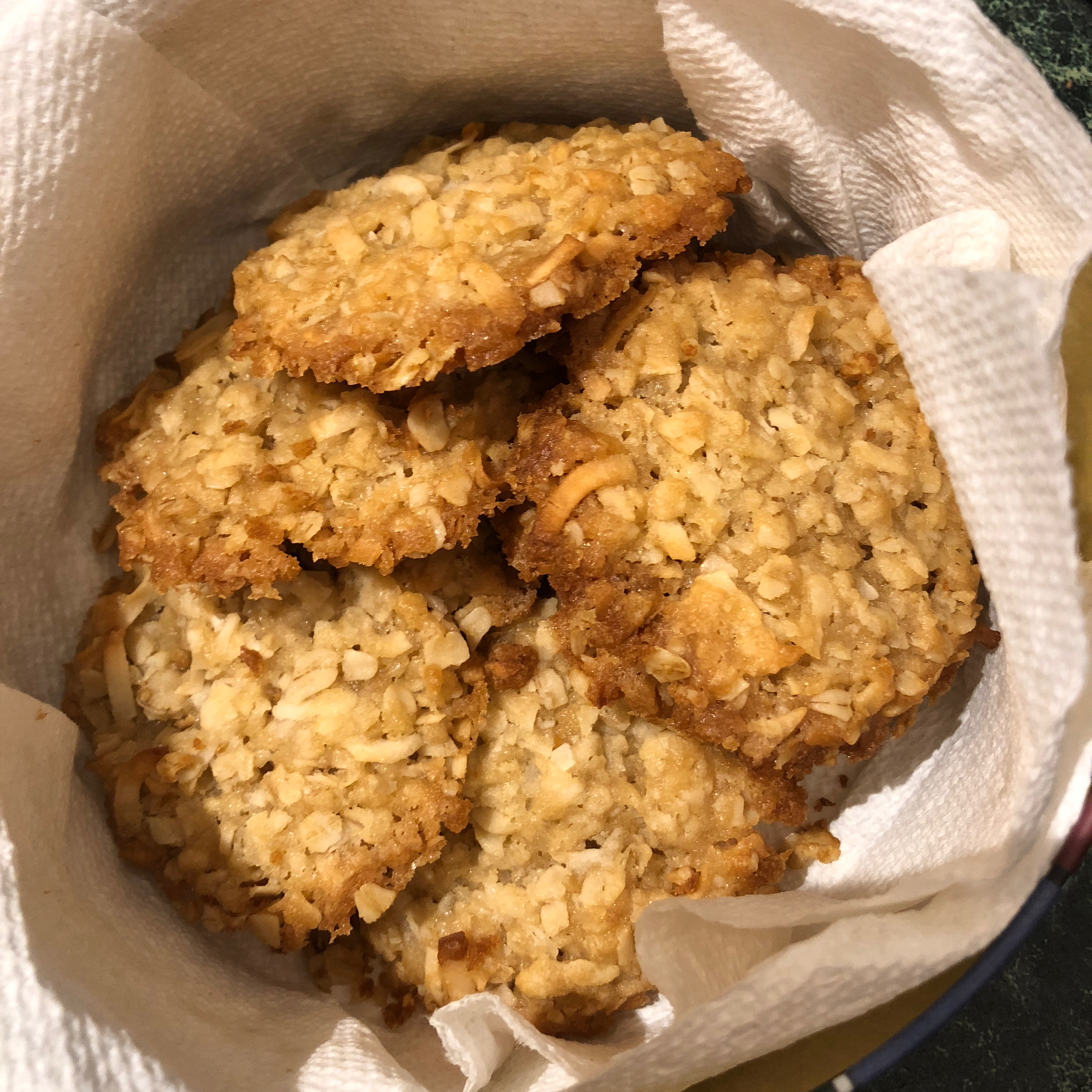 Anzac Biscuits Jackie Bramble Robinson