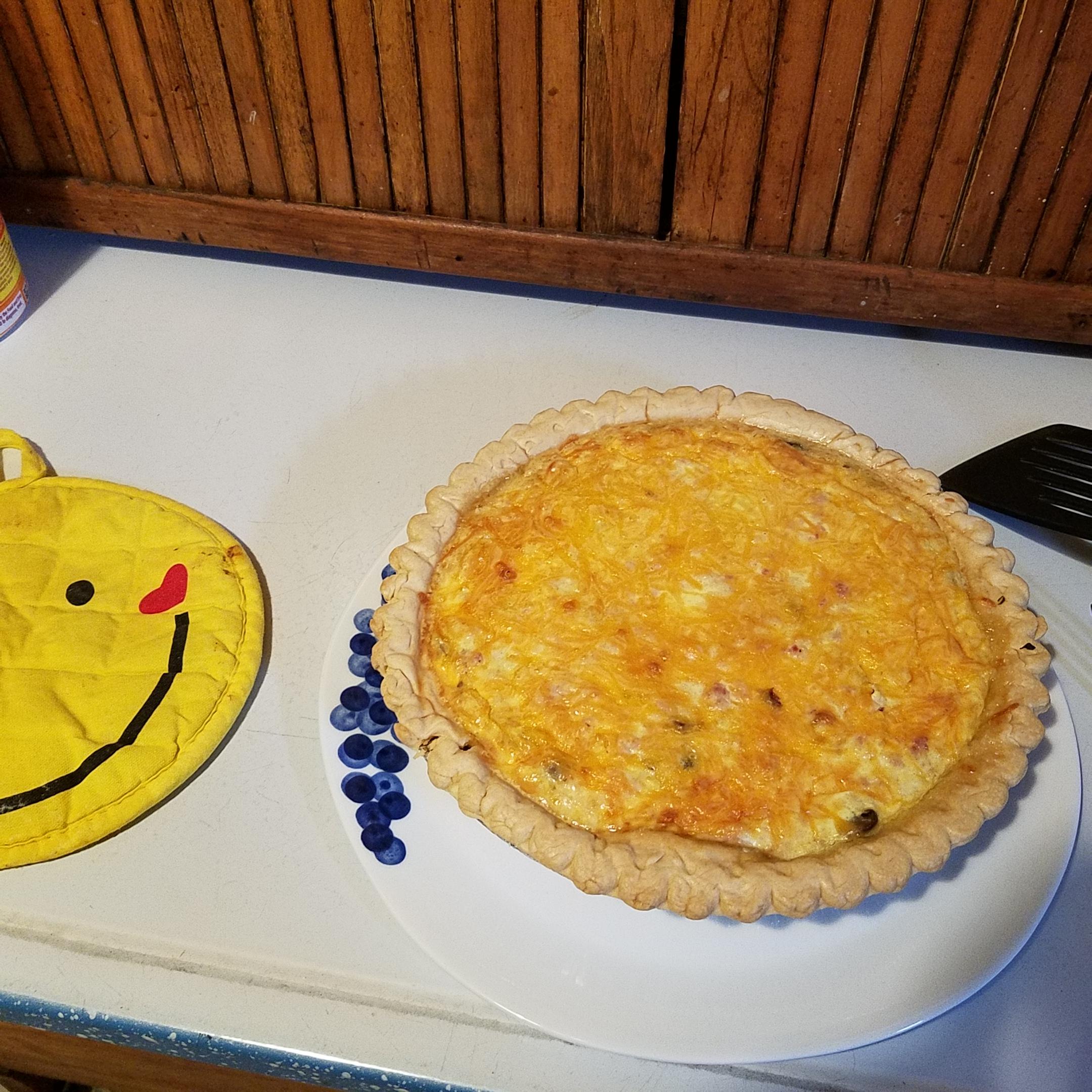 Ham and Cheese Quiche Chris Kornett