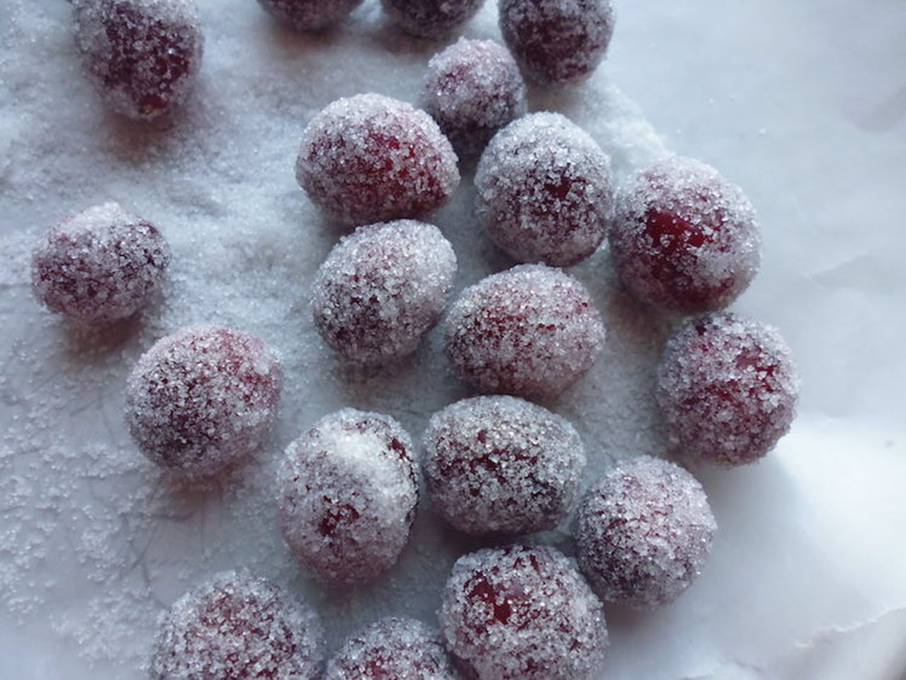 Sugared Cranberries nch
