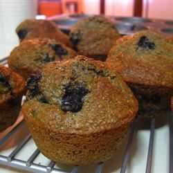 Low-Fat Blueberry Bran Muffins mrs ohm
