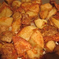 Kristen's Parmesan Roasted Potatoes A R