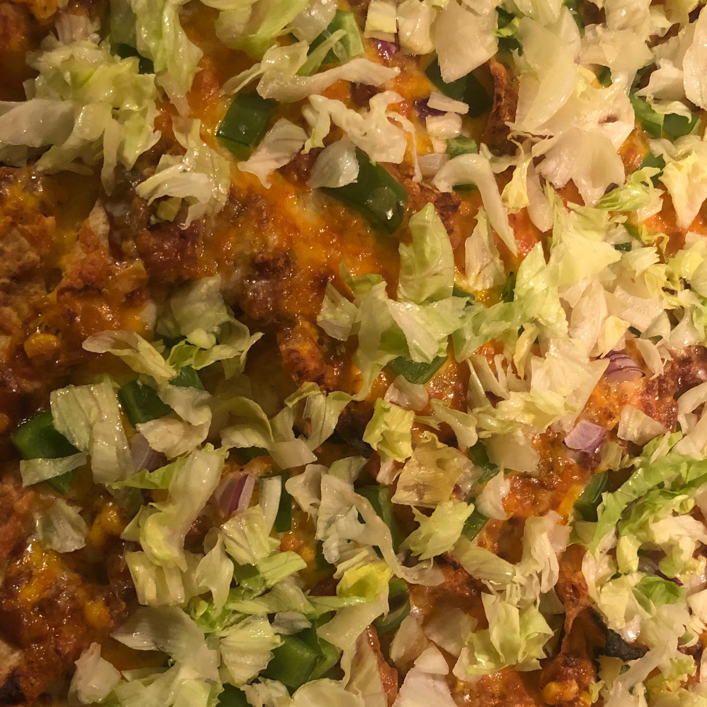 Aaron's Famous Vegetarian Nachos Laura Hollenbeck Bonnette