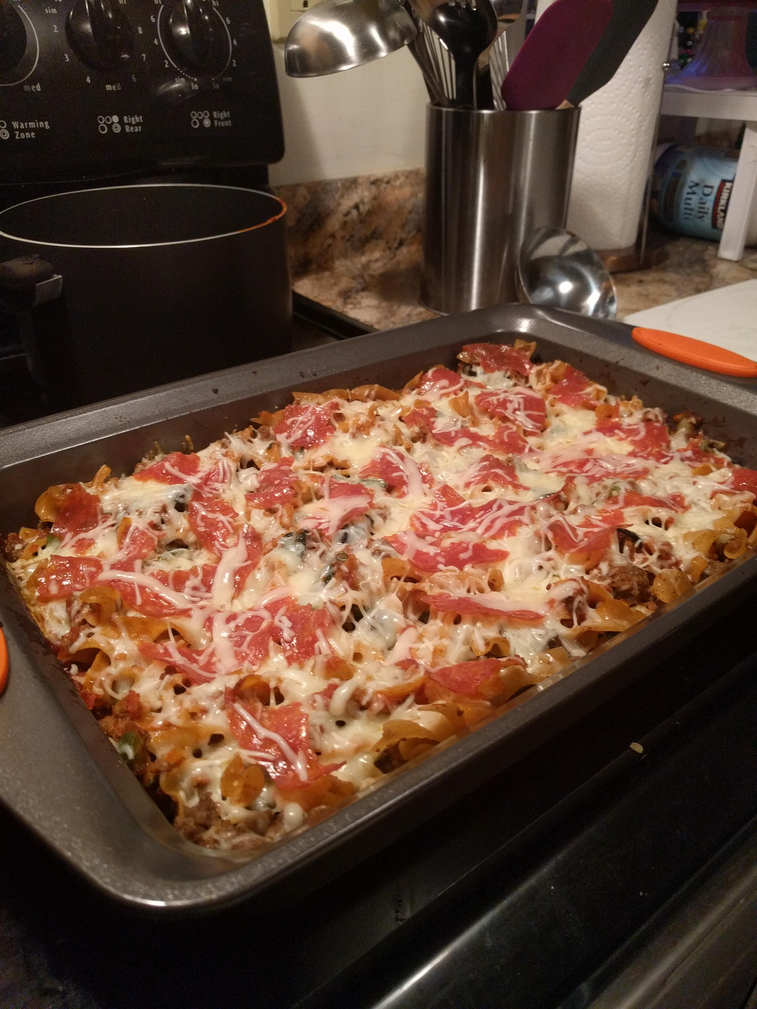 Pizza Casserole Dan Schofer