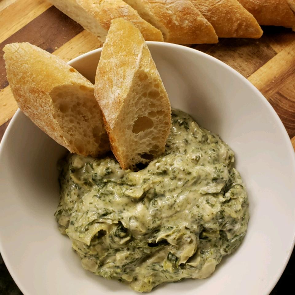Artichoke & Spinach Dip Restaurant Style bernadettec