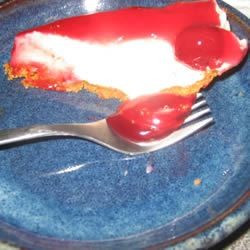 The Best Unbaked Cherry Cheesecake Ever Kady-June