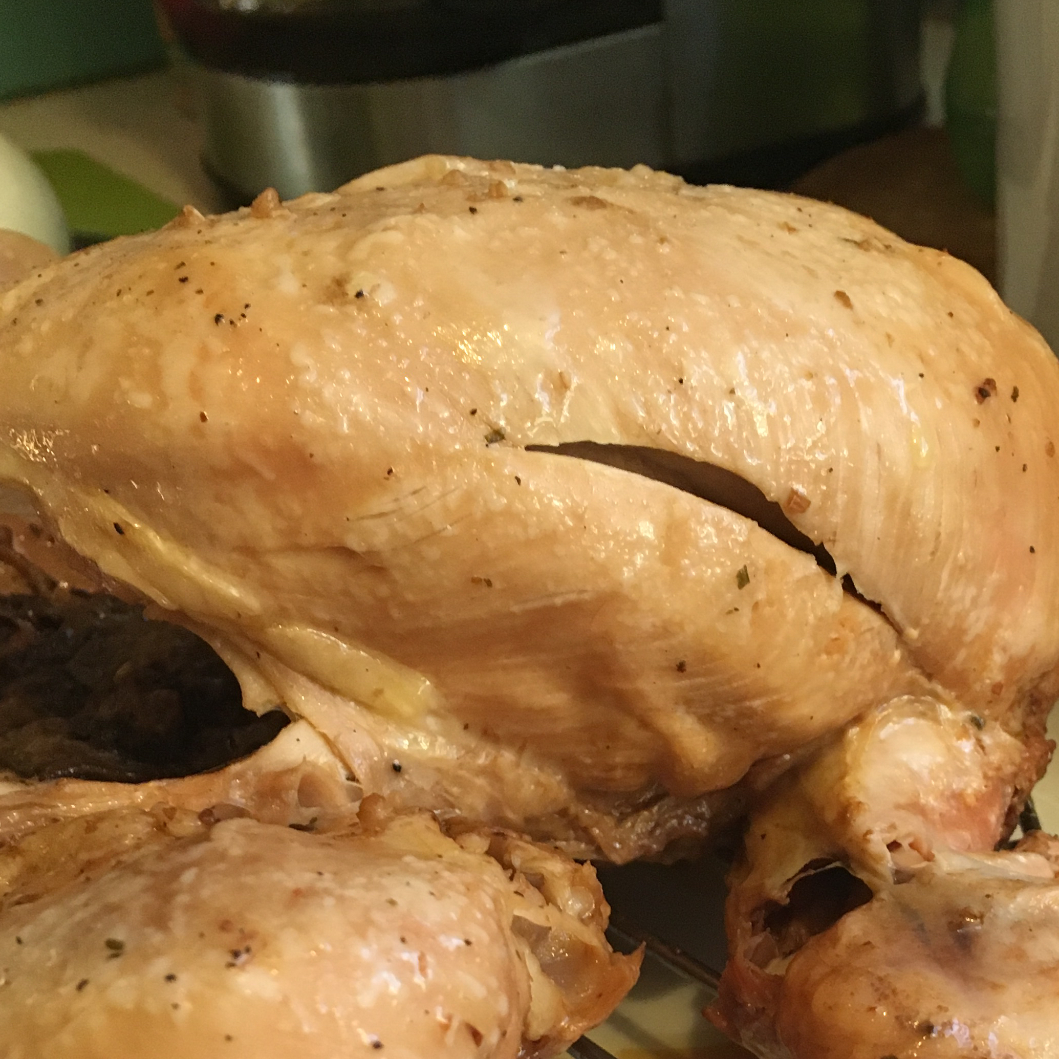 Kathy's Delicious Whole Slow Cooker Chicken